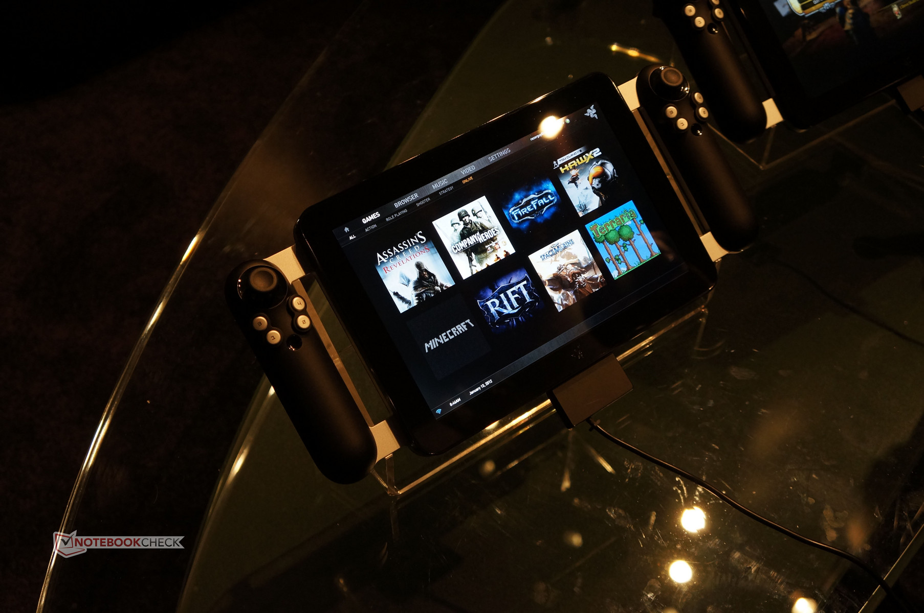 Video Project Fiona Razer Gaming Tablet Notebookcheck Net News
