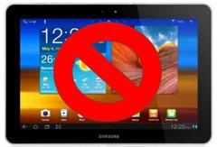 Samsung halts TouchWiz update for Tab 10.1
