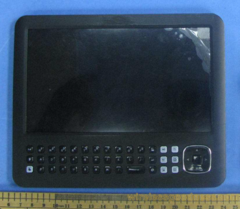 Android tablet with QWERTY keypad hits FCC