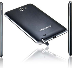 Galaxy Note crosses 1million shipment mark