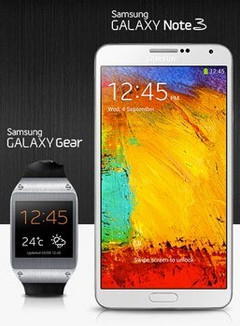 Galaxy Note 3 and Galaxy Gear coming to North America in October