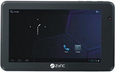 Zync rolls out the Z990 Android tablet