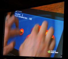 Touchscreen Controller in Tegra 3 SoC