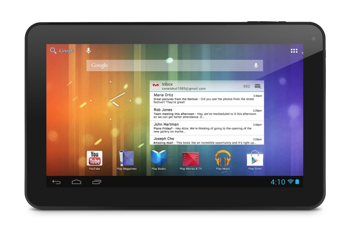 Ematic introduces the Genesis Prime XL Android tablet