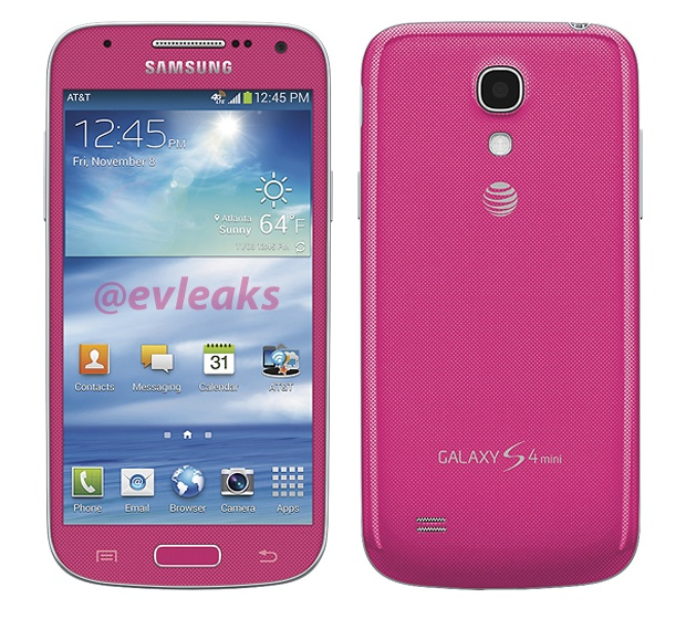 Pink Samsung Galaxy S4 mini coming to the USA - NotebookCheck.net News