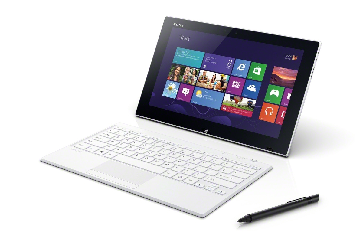 Sony introduces the vaio tap 11 windows tablet for Notebook tablet