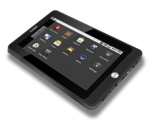 Coby's Kyros MID7015 Android tablet is now available - NotebookCheck ...