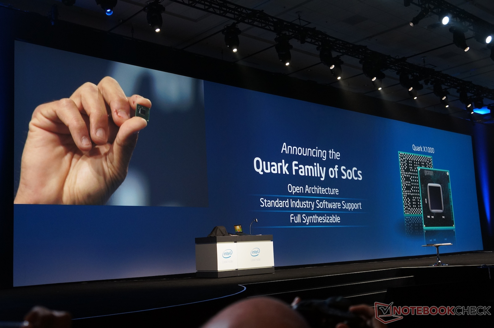 Intel Unveils 14nm Quark System On A Chip Notebookcheck Net News