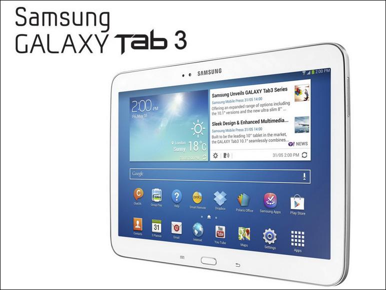 Samsung announces  inch and Galaxy Tab