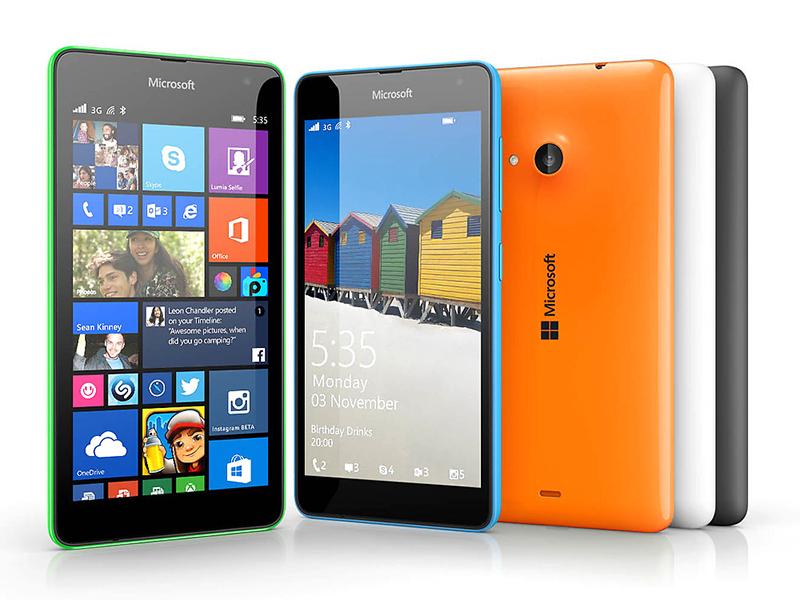 ebffb86db52 Microsoft Lumia 535 - Notebookcheck.net External Reviews
