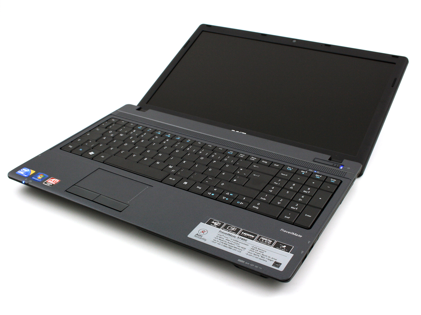 Acer TravelMate 5740 Series - Notebookcheck.net External ...