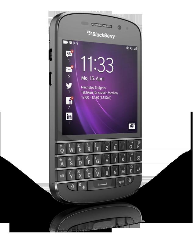 Blackberry Q10: Notebookcheck.net External Reviews
