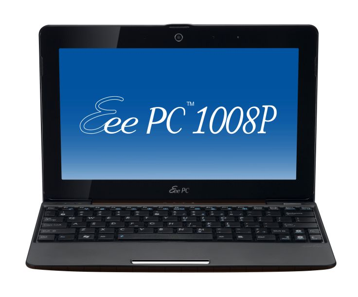 Asus Eee PC 1008P Notebook Last