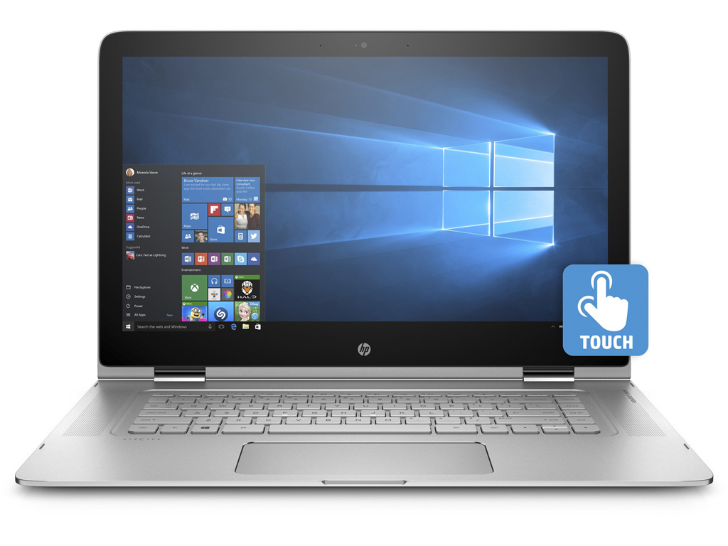 how to wireless use laptop on monitor hp spectre