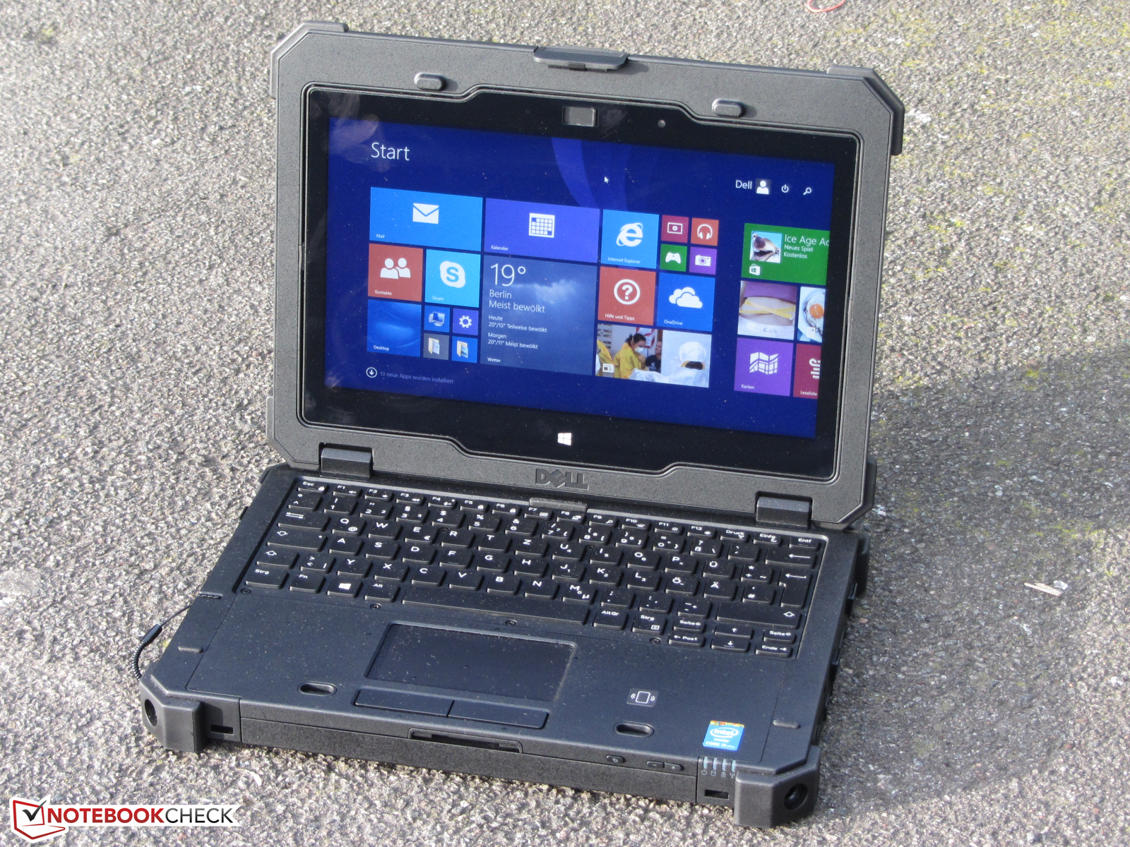 dell latitude 12 rugged extreme - notebookcheck external reviews