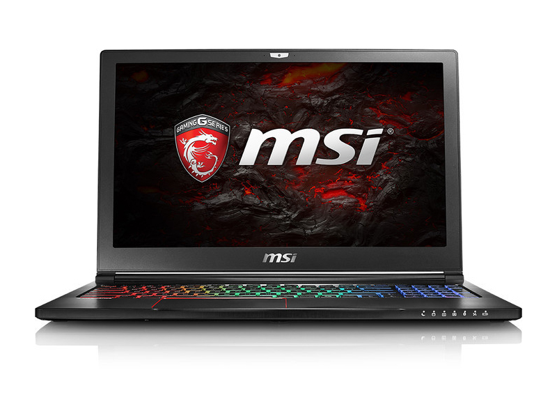 MSI GS63VR-6RF16H22 Stealth Pro - Notebookcheck.net