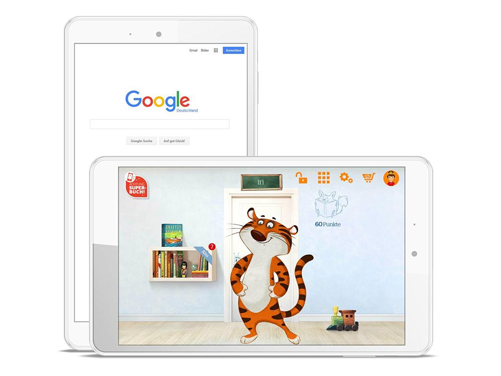 Odys Tigertab 8 Notebookcheck Net External Reviews