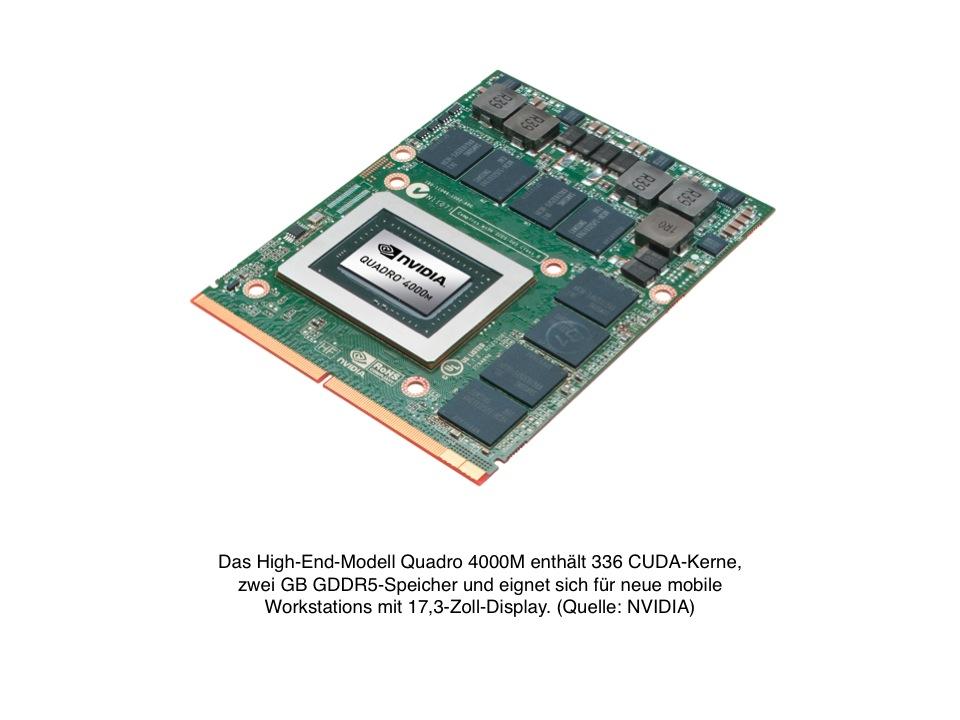 Nvidia Quadro 4000m Notebookcheck Net Tech