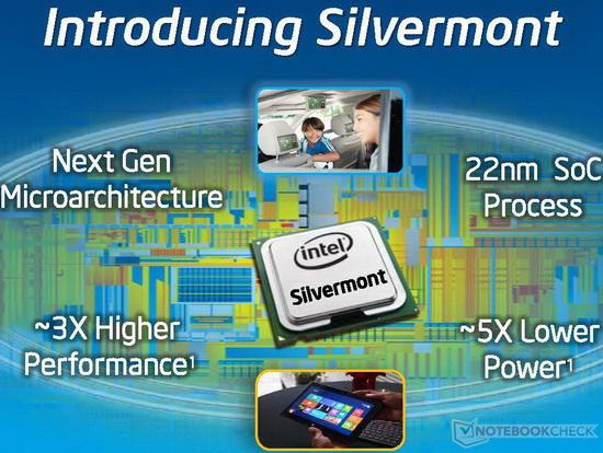 Intel Atom Z3775 Tablet SoC - NotebookCheck net Tech