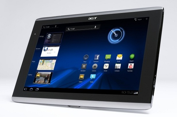 Acer Iconia Tab A100 - Notebookcheck.net External Reviews