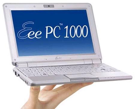Asus Eee PC 1000/XP Netbook Touchpad 64Bit