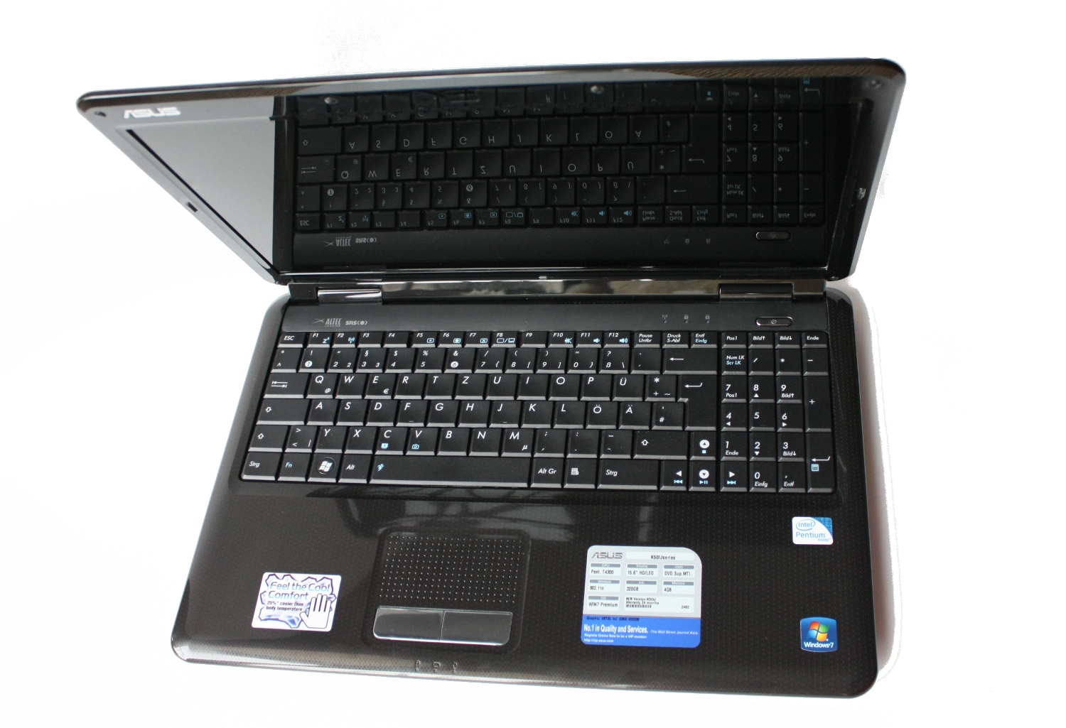 Asus k50ij series notebookcheck external reviews asus k50ij sx greentooth Choice Image