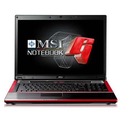 MSI GX723 Gaming Notebook Drivers for PC