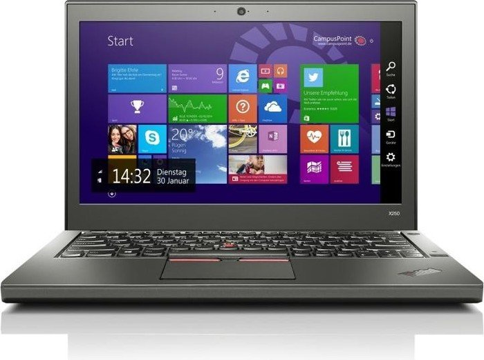 Lenovo ThinkPad X250-20CM001VGE - Notebookcheck.net External Reviews