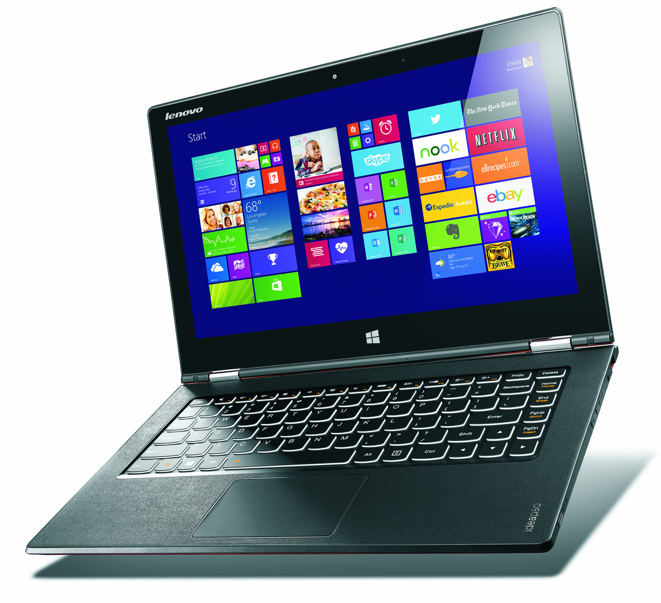 Notebook lenovo yoga 2 pro yoga series