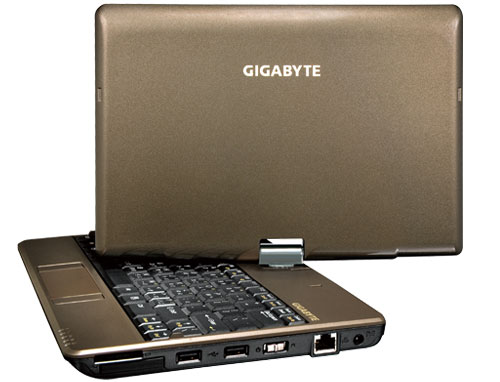 GIGABYTE T1028G NOTEBOOK AUDIO NEW