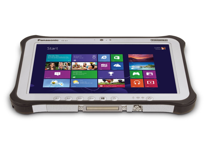 Panasonic Toughpad Fz G1 Notebookcheck Net External Reviews