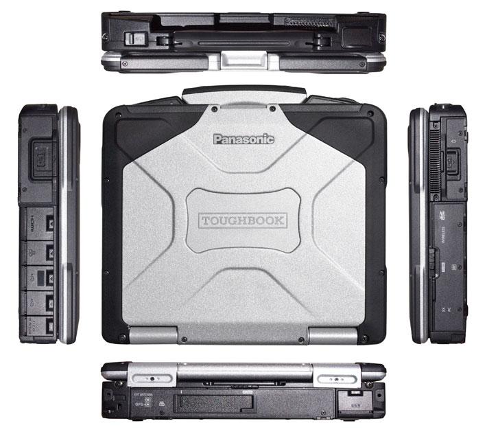 Set up your panasonic toughbook cf-31.